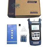 Misuratore di potenza ottica a fibra ottica ad alta precisione -70 ~ + 10dBm Tester per cavi a fibra ottica connettore SC/FC/ST per utensile di manutenzione