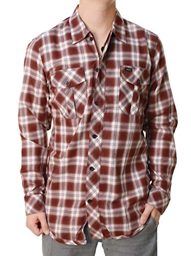 rockwood-des-hommes-de-rvca-3-4-de-fermeture-eclair-de-bouton-chemise-petit-occasionnel-vers-le-bas