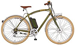 Prophete Herren Elektrofahrrad E-Bike 28 Zoll Navigator Flair british green, 52