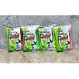 Tota Herbal Organic Holi Colors Gulal Holi Rangoli Color Powder Pack of 4 Assorted Colors (100 Grams Each)