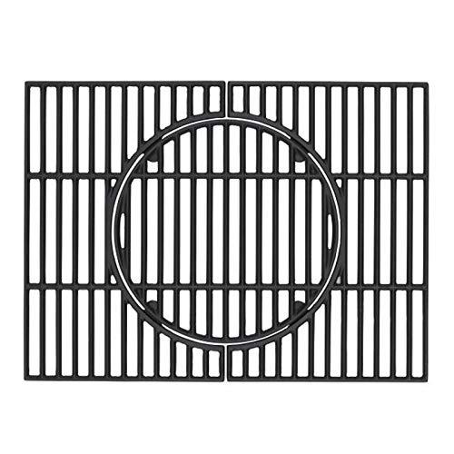 Tepro Universal Rost Guss Grillrost Set, schwarz, geeignet für Tepro Toronto (nicht für XXL)