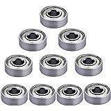 SIENOC 10 Pieces 608zz miniatura Radial rodamientos de bolas 8 * 22 * 7 mm para la impresora 3D, modelo, accesorios de muebles, línea de montaje