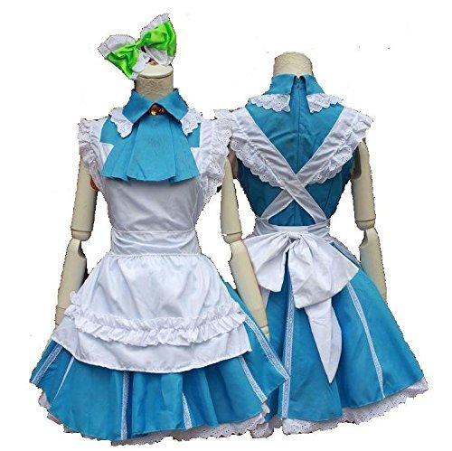 men eines Tages cosplay Mädchenkostüm Liebe leben LoveLive Waren Figuren (blau) (Liebe Vogel Kostüme)