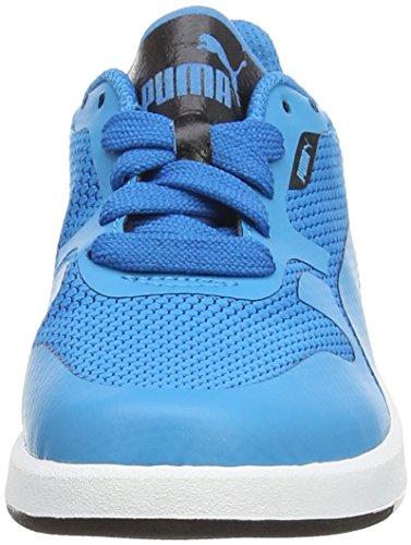 Puma - Icra Evo Junior, Scarpe da ginnastica Unisex – Bambini Blue (Blue/Black)
