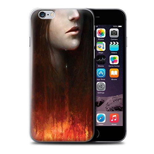 Offiziell Chris Cold Hülle / Case für Apple iPhone 6S / Baum des Wissens Muster / Gefallene Erde Kollektion Tränen der Eva