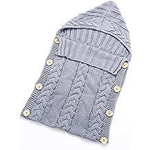Saco de dormir para bebé de Hi8 Store, hecho a mano con punto de ganchillo