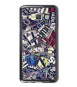 Fuson Designer Back Case Cover for Samsung Galaxy A3 (2015) :: Samsung Galaxy A3 Duos (2015) :: Samsung Galaxy A3 A300F A300Fu A300F/Ds A300G/Ds A300H/Ds A300M/Ds (News Papers Cut Cut PApers Mingled Nice)