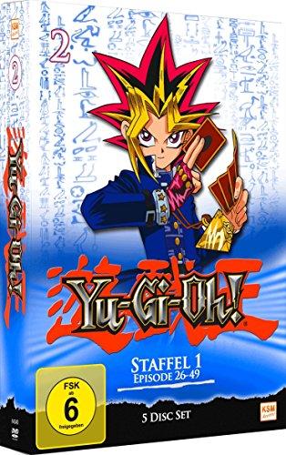 Preisvergleich Produktbild Yu-Gi-Oh! Staffel 1 - Episode 26-49 [5 DVDs]