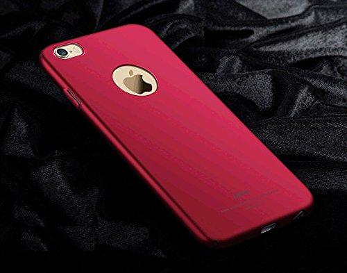 Yooky iphone 6 6S Case Fall Hülle , iphone 6 6S Cover Tasche , Kratzfestes dünne harte Schutzabdeckung Shell für iphone 6 6S Red