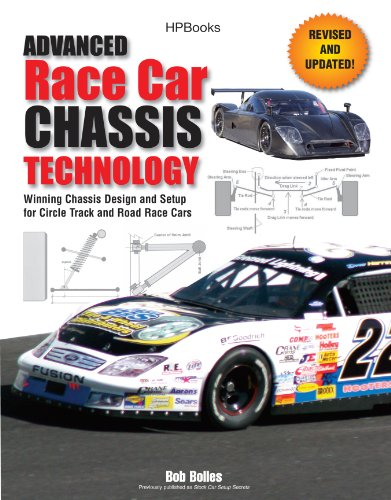 Advanced Race Car Chassis Technology HP1562: Winning Chassis Design and Setup for Circle Track and Road Race Cars (English Edition) por Bob Bolles