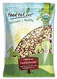 Food to Live Bio Paranüsse (Roh, Keine Schale) (18 Pfund)