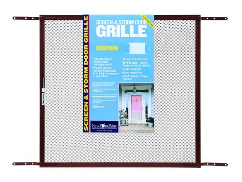 24-zoll-grill (New York Wire 71440 Mesh Door Grill, 24-Inch by 36-Inch, Brown by New York Wire)