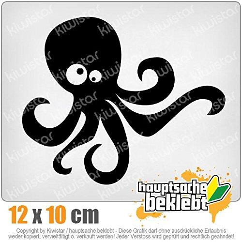 KIWISTAR Aufkleber - Oktopus Comic - Autoaufkleber Sticker Bomb Decals Tuning Bekleben