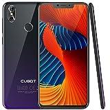 CUBOT P20 (2018) 4G Network Pantalla 18:9/6.18' Diseño El Fin de los Bordes Android 8.0 Dual Sim Teléfono Libre, Batería 4000 mAh, 4GB + 64GB, Dual Cámara, Octa-Core, WiFi, Bluetooth,GPS, Morado