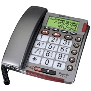 Amplicom PowerTel 49 plus Schnurgebundenes Seniorentelefon