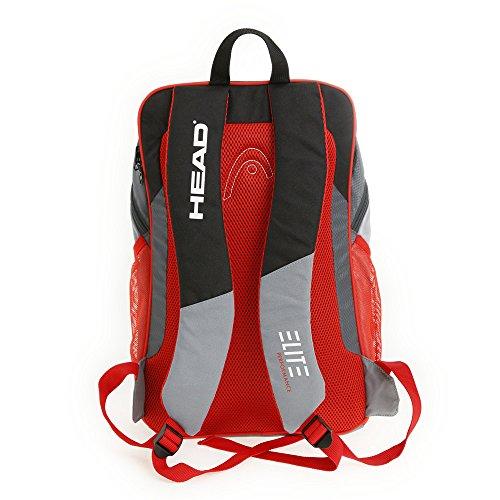 HEAD Elite Backpack Rucksack Schwarz