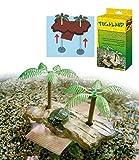 Tugaland Fun Island è un isola galleggiante adatta a tartarughiere. E' in plastica, realizzata con materiali atossici. Si adatta automaticamente al livello dell'acqua. Dotata di ventose che la tengono attaccata al fondo della vasca. Accesso f...