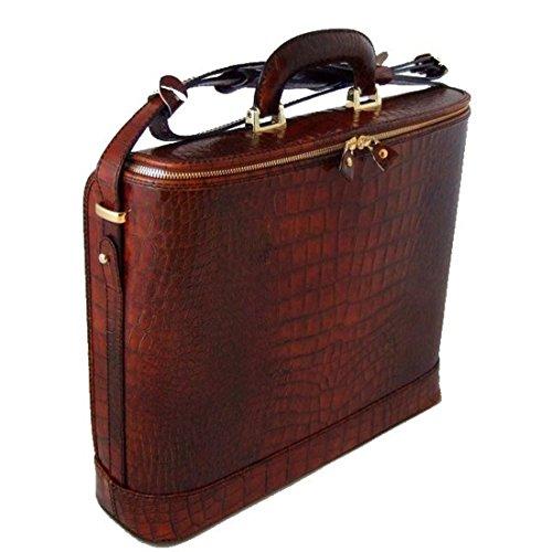 Pratesi Raffaello italienischem Leder 15'' Laptoptasche - K116/15 King (Cognac) - Pratesi Laptop
