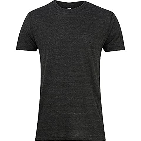 American Apparel Mens Power-Washed 100% Cotton Fine Jersey T-Shirt