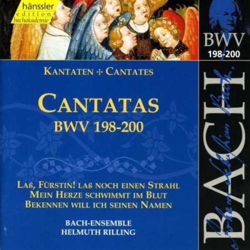 Edition Bachakademie Vol. 60 (Geistliche Kantaten BWV 198-200) (Klassische 200 Top)