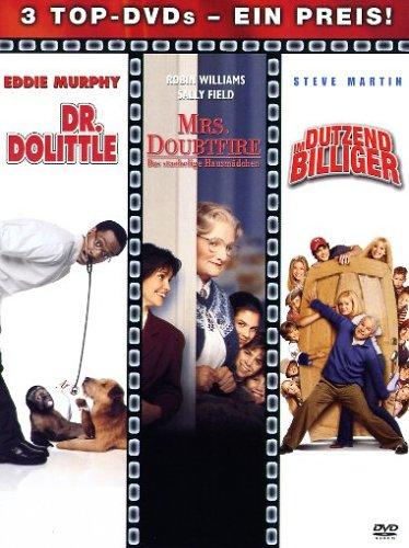 Dr. Dolittle - Mrs. Doubtfire - Im Dutzend billiger - 3 DVDs