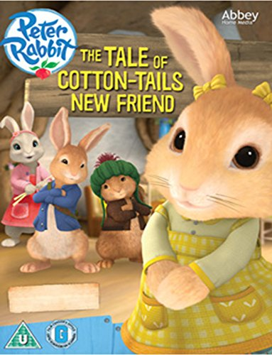 Peter Rabbit - TheTale of Cotton Tail's New Friend [DVD] [UK (Cotton Peter Tail)
