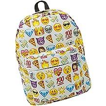 SAMGU Zaino Donne Zaino Viaggio Borsa Backpack Emoji Scuola