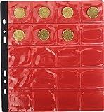 EXACOMPTA - 1 SACHET de 3 Recharges pour Albume de Pièces - 40mm