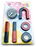 #2: StepsToDo Kids Magnet Set and Magnetic Compass (Multicolour)