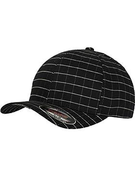 Flexfit Mütze Flexfit Square Check Cap - Gorra de náutica, color negro / blanco, talla DE: S/M
