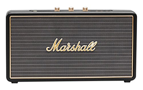 Marshall Stockwell - Altavoz portátil (Bluetooth, USB, 25 W), color negro