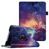 Coque iPad Mini 4 - Fintie 360° Rotation Housse Rotatif étui Coque avec Rabat/Stand de Positionnement Support et la Fonction Sommeil/Réveil Automatique pour Apple iPad Mini 4 (7.9 Pocues), Galaxy