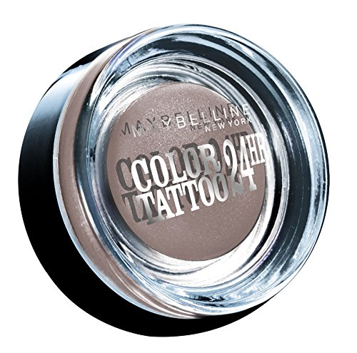 Maybelline New York Lidschatten Eyestudio Color Tattoo 24h Permanent Taupe 40 / Gel-Cream Eyeshadow Grau-Braun metallic, langanhaltend, 1 x 4 g