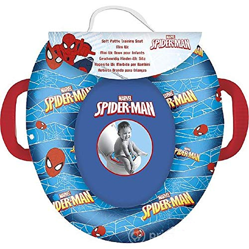Riduttore wc per bambini personaggi disney - multicolore (spiderman)