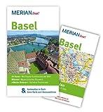 MERIAN live! Reiseführer Basel: MERIAN live! - Mit Kartenatlas im Buch und Extra-Karte zum Herausnehmen
