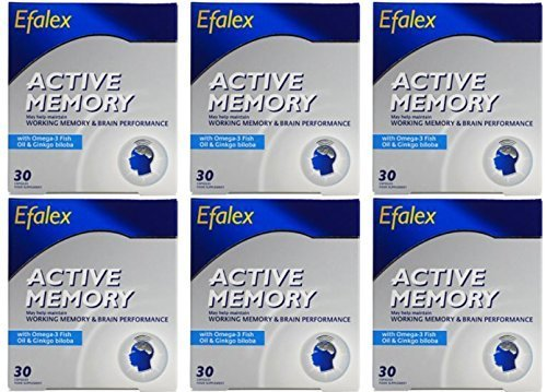 (6 PACK) - Efamol - Efalex Active Memory | 30's | 6 PACK BUNDLE by Efamol