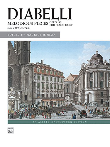 Diabelli -- Melodious Pieces on Five Notes, Op. 149 (Alfred Masterwork Editions)
