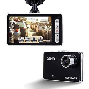DBPOWER Caméra de Voiture DASHCAM (2.7'' A7)