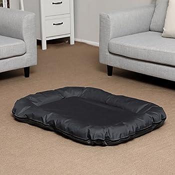 SONGMICS Panier Lit Pour Chien Dog Bed Coussin Matelas L/XL/XXL (XL:100 x 70 x 15 cm)