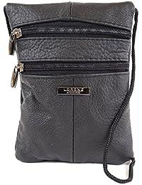 Ladies Shoulder / Cross Body Bag / Purse / Pouch (Brown, Red, Beige, Black, Tan)