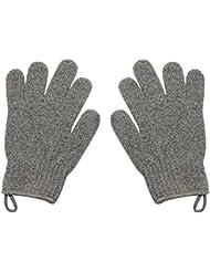 Homgaty Lot de 2 gants de douche exfoliants de massage pour le corps