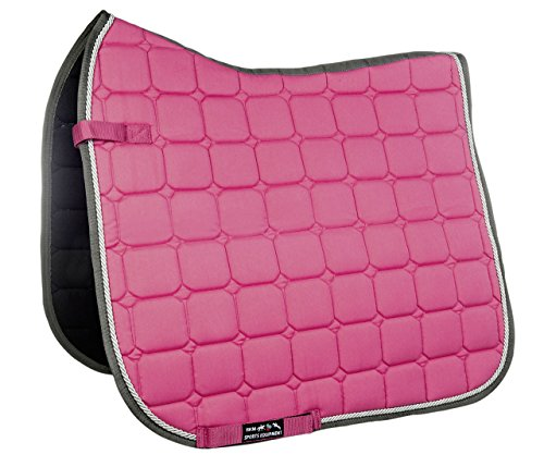 HKM Sports Equipment GmbH Schabracke-Madrid Sattel-& Zaumzeug, pink, One Size