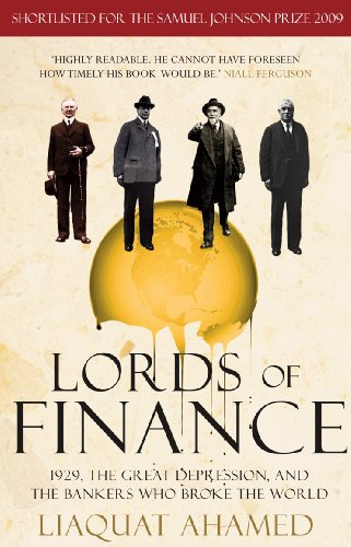 Lords of Finance: 1929, The Great Depression, and the Bankers who Broke the World (English Edition) Power Digital Flash
