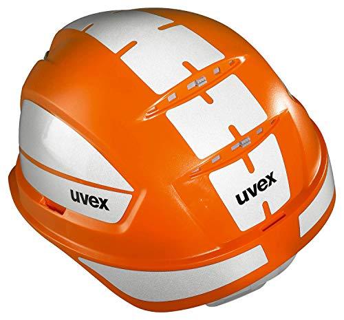 Uvex Pheos B-WR Casque de Protection réfléchissant pour Chantier Orange