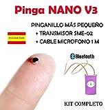 Pinga Nano V3 Bluetooth KIT COMPLETO (Carne)