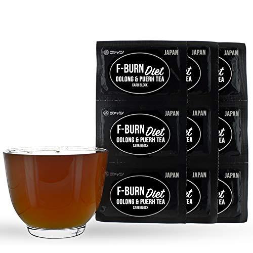 Oolong Tea Pu erh Tea Slimming Tea 100 Cups | Vegan Weight Loss Diet Anti-oxidant | Carb Blocker Enzyme Lipase Polyphenol | Vegan Fat Burner Easy Digest Diet Food Tea Diet no Diet Tablets