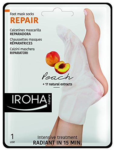iroha-fusssockchenmaske-peach-socks-reparing-2er-pack-2-x-2-stuck