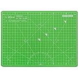 Lianina® Base de corte con superficie auto regenerativa, tamaño A4 30 x 22 cm, bicolor Verde y Lila