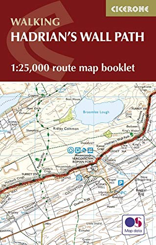 Hadrian's Wall Path Map Booklet: 1:25,000 OS Route Mapping (Walking)