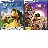 Der Prinz von Ägypten & Spirit- Der wilde Mustang -2 DVDs- SET